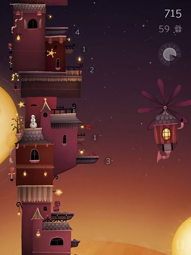 Écrans du jeu Moonlight express pour iPhone, iPad ou iPod.