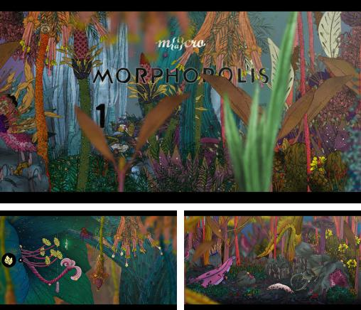 In addition to the game Men's Room Mayhem for iPhone, iPad or iPod, you can also download Morphopolis for free.