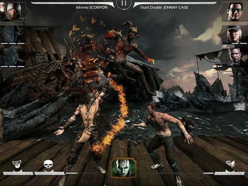 Descarga gratuita del juego Mortal Kombat X para iPhone.