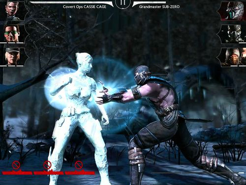Capturas de pantalla del juego Mortal Kombat X para iPhone, iPad o iPod.