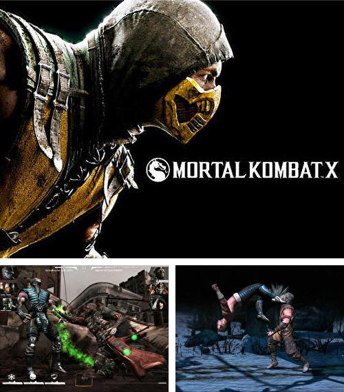 In addition to the game Mortal Kombat X for iPhone 6s, you can download Mortal Kombat X for iPhone, iPad, iPod for free.