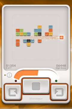 Screenshots of the Mosaique game for iPhone, iPad or iPod.