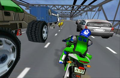 Kostenloser Download von Moto Madness - 3d Motor Bike Stunt Racing Game für iPhone, iPad und iPod.