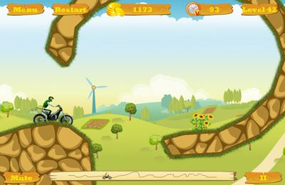 Screenshots of the Moto Race Pro game for iPhone, iPad or iPod.