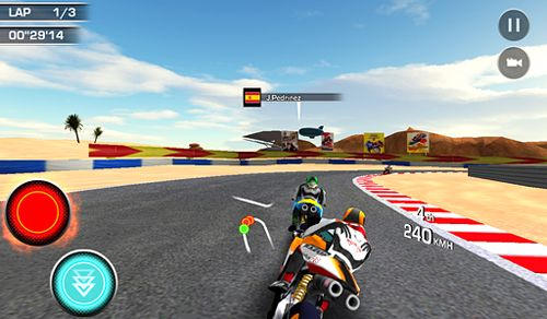 Capturas de pantalla del juego Moto racer: 15th Anniversary para iPhone, iPad o iPod.