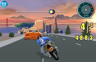 Free Moto Racing Fever download for iPhone, iPad and iPod.