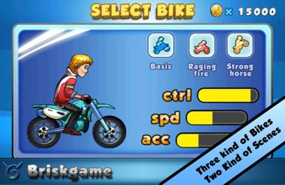 Download Moto X Challenge iPhone free game.