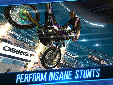 Download Motocross Meltdown iPhone free game.