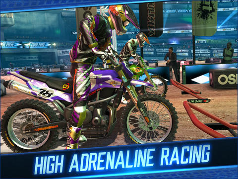 Free Motocross Meltdown download for iPhone, iPad and iPod.