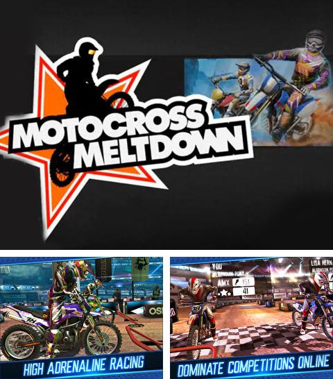 En plus du jeu L'Ile des Fruits pour iPhone, iPad ou iPod, vous pouvez aussi télécharger gratuitement Moto-cross.L'Ejection de l'Adrénaline, Motocross Meltdown.