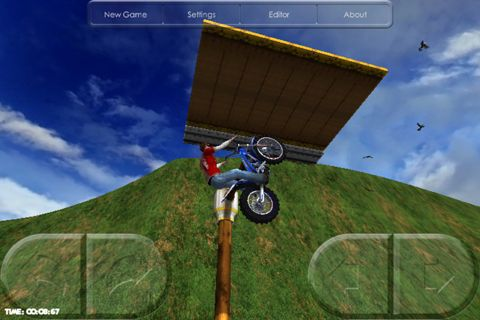 Capturas de pantalla del juego Motorbike para iPhone, iPad o iPod.