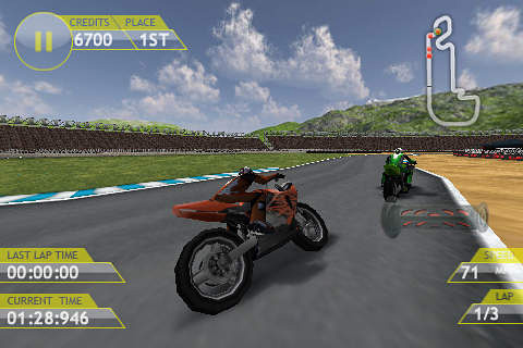 Free Motorbike GP download for iPhone, iPad and iPod.