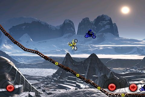 Download Motorbike league iPhone free game.