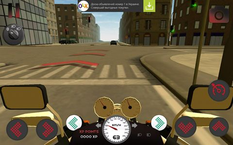 Descarga gratuita de Motorcycle driving 3D para iPhone, iPad y iPod.