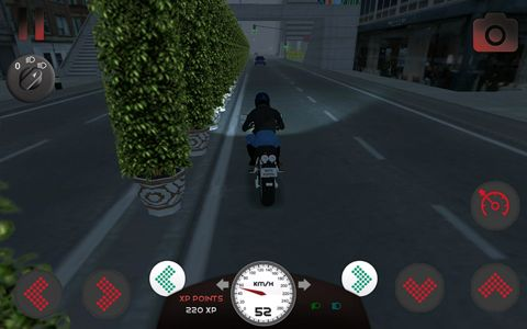 Геймплей Motorcycle driving 3D для Айпад.
