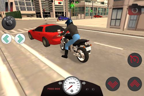 Download Motorcycle driving school iPhone free game.