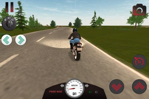 Écrans du jeu Motorcycle driving school pour iPhone, iPad ou iPod.