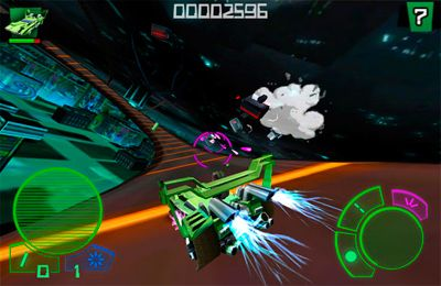 Screenshots of the Motordrive city game for iPhone, iPad or iPod.