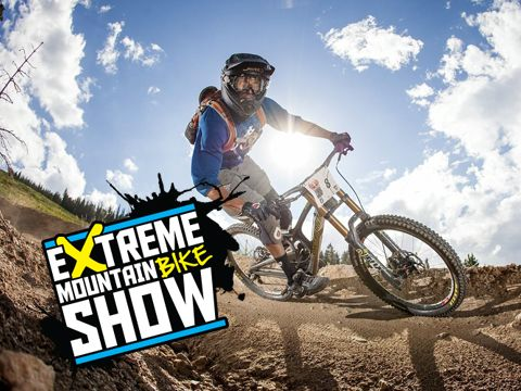Mountain bike extreme show