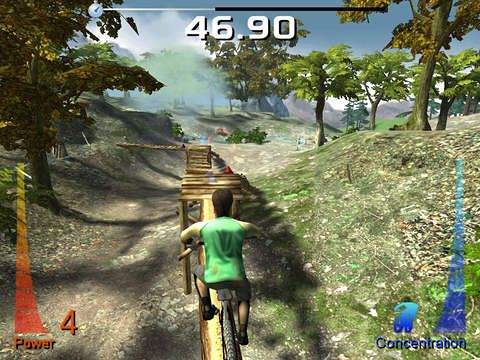 Download Mountain bike extreme show iPhone free game.