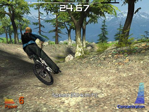 Free Mountain bike extreme show download for iPhone, iPad and iPod.