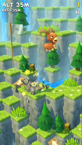 Download Mountain goat: Mountain iPhone free game.