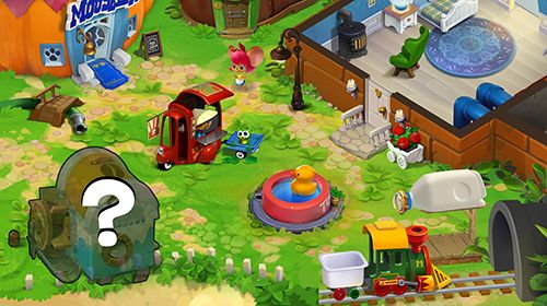 Screenshots do jogo Mouse house: Puzzle story para iPhone, iPad ou iPod.