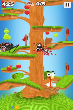 Capturas de pantalla del juego Mr. Crab para iPhone, iPad o iPod.