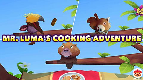 Mr. Luma's cooking adventure