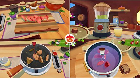 Kostenloser Download von Mr. Luma's cooking adventure für iPhone, iPad und iPod.