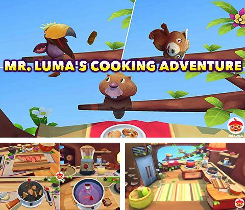 In addition to the game Heroes: With fire and sword for iPhone, iPad or iPod, you can also download Mr. Luma's cooking adventure for free.