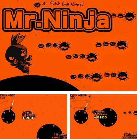In addition to the game Shadow bug for iPhone, iPad or iPod, you can also download Mr. Ninja for free.
