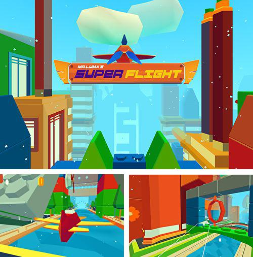 In addition to the game Panda Blair! for iPhone, iPad or iPod, you can also download Mr.Luma's super flight for free.
