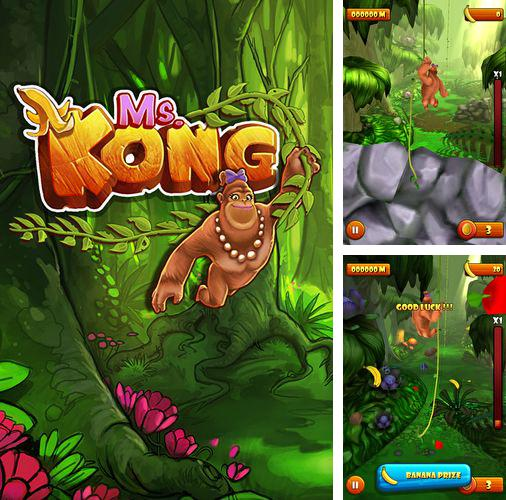 In addition to the game Subway moto escape for iPhone, iPad or iPod, you can also download Ms. Kong for free.