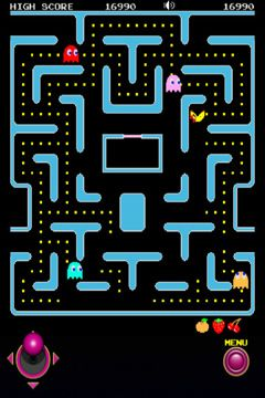Capturas de pantalla del juego Ms. Pac-Man para iPhone, iPad o iPod.