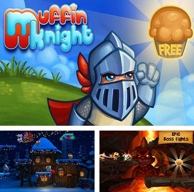 In addition to the game The desolation of dragons for iPhone, iPad or iPod, you can also download Muffin Knight for free.
