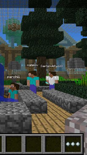 Screenshots vom Spiel Multiplayer for minecraft für iPhone, iPad oder iPod.