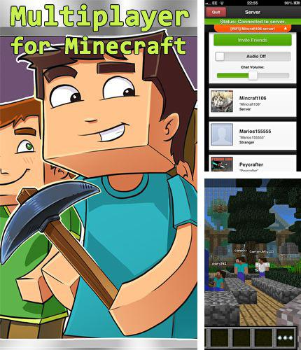 En plus du jeu Sauve les oeufs pour iPhone, iPad ou iPod, vous pouvez aussi télécharger gratuitement Multijoueur pour minecraft, Multiplayer for minecraft.
