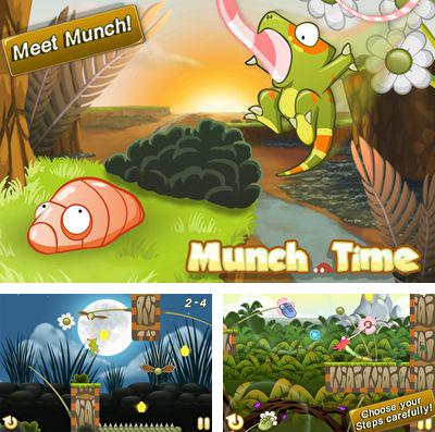 In addition to the game Snowball RunerCar Racing Fun & Drive Safe for iPhone, iPad or iPod, you can also download Munch Time for free.