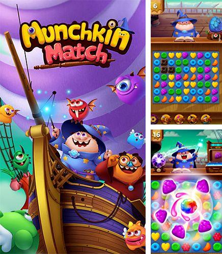 In addition to the game Monster Truck Mania for iPhone, iPad or iPod, you can also download Munchkin match for free.