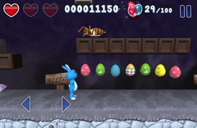 Capturas de pantalla del juego Munchy Bunny para iPhone, iPad o iPod.