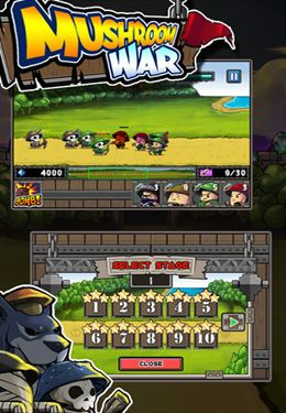Download Mushroom War iPhone free game.