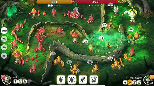 Descarga gratuita de Mushroom wars 2 para iPhone, iPad y iPod.