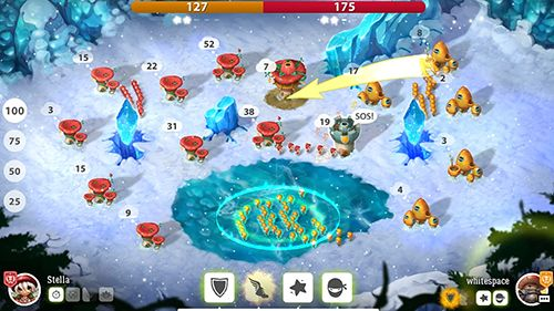 Capturas de pantalla del juego Mushroom wars 2 para iPhone, iPad o iPod.
