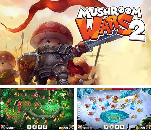 In addition to the game Finger olympic for iPhone, iPad or iPod, you can also download Mushroom wars 2 for free.