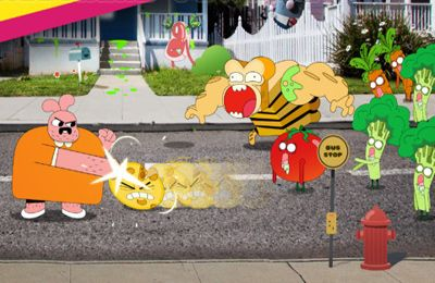 Descarga gratuita de Mutant Fridge Mayhem – Gumball para iPhone, iPad y iPod.