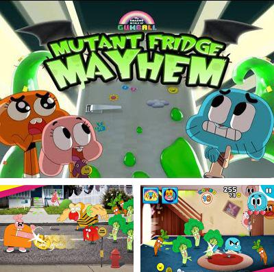 In addition to the game Candy Crush Saga for iPhone, iPad or iPod, you can also download Mutant Fridge Mayhem – Gumball for free.