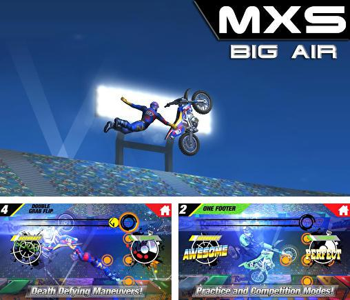 Download MXS big air iPhone free game.