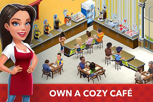 Download My cafe: Recipes and stories iPhone free game.