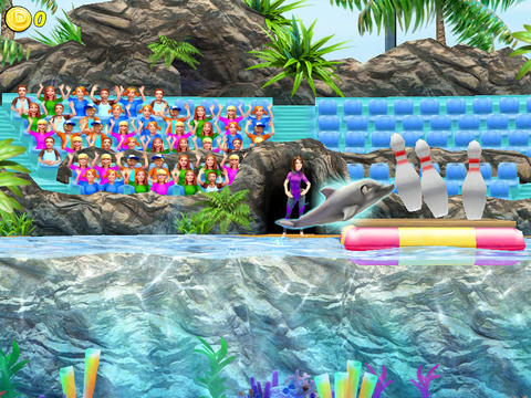 Screenshots of the My Dolphin Show game for iPhone, iPad or iPod.